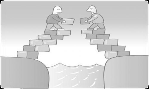 samen bruggen bouwen